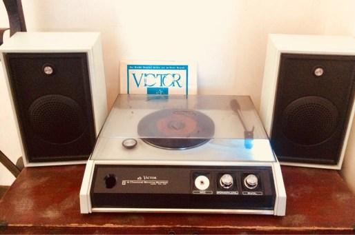 Vintage Victor Turntable