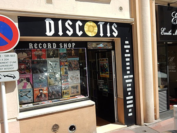 DiscOtis - Store Front - Cannes France