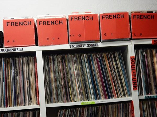 Discotis - store interior - Cannes France