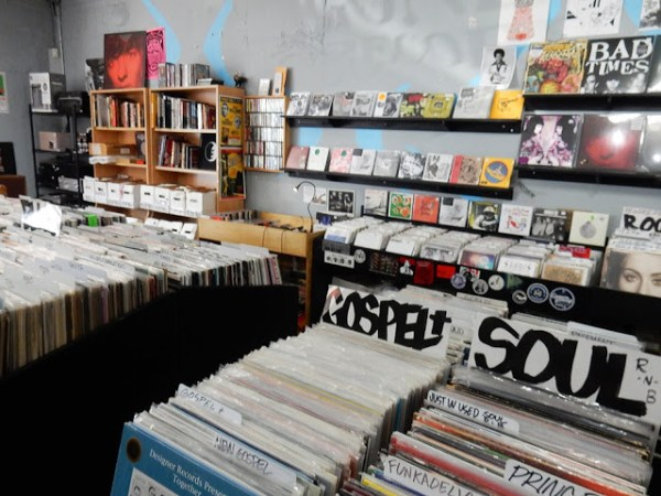 Goner Records - store interior - Memphis Tennessee