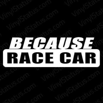 Because-Racecar