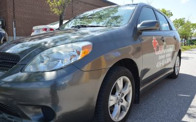 Car Lettering | Can Courier