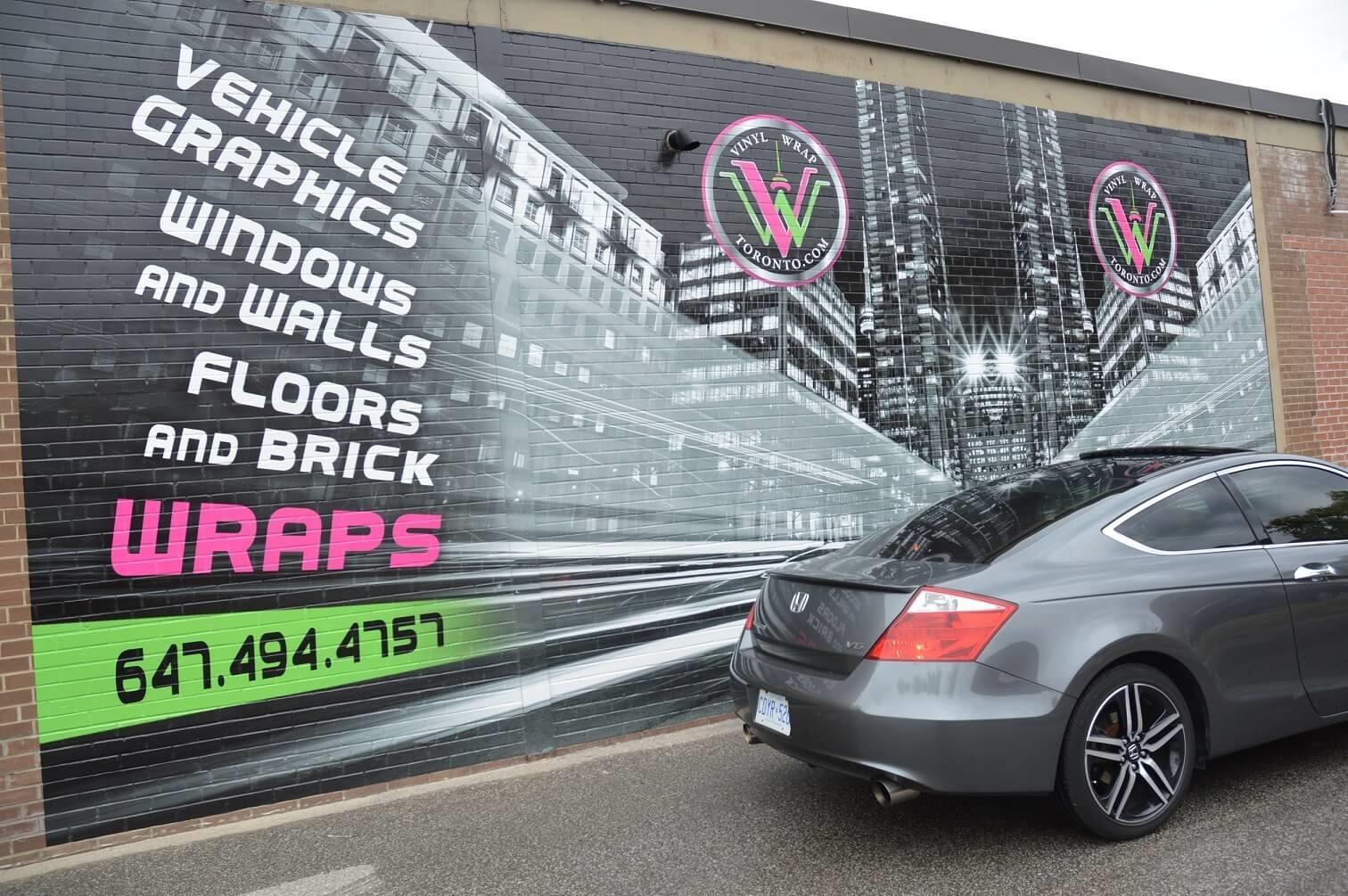 Wall Wrap Toronto - Best Wall Wrap in Etobicoke.