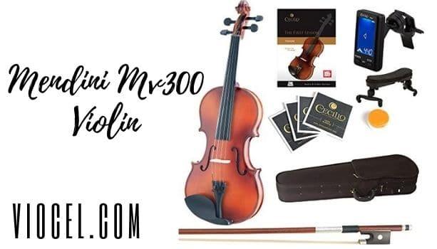 Mendini MV300 Solid Wood