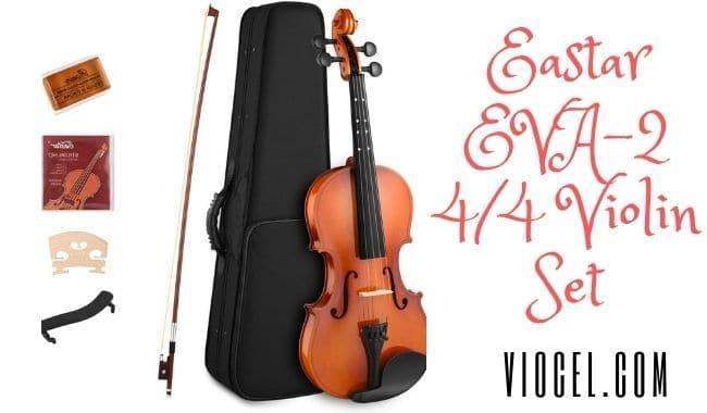 Eastar EVA-2 4/4 Violin Set