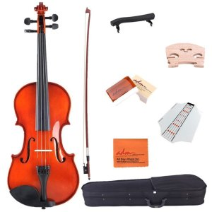Feature of ADM 1/4 Solid Wood Student Violin Starter Kit