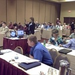 Shot of the audience at the Iowa Telecom Association's Video Seminar