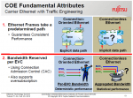 Carrier over Ethernet Attributes - Image courtesy of Fujitsu