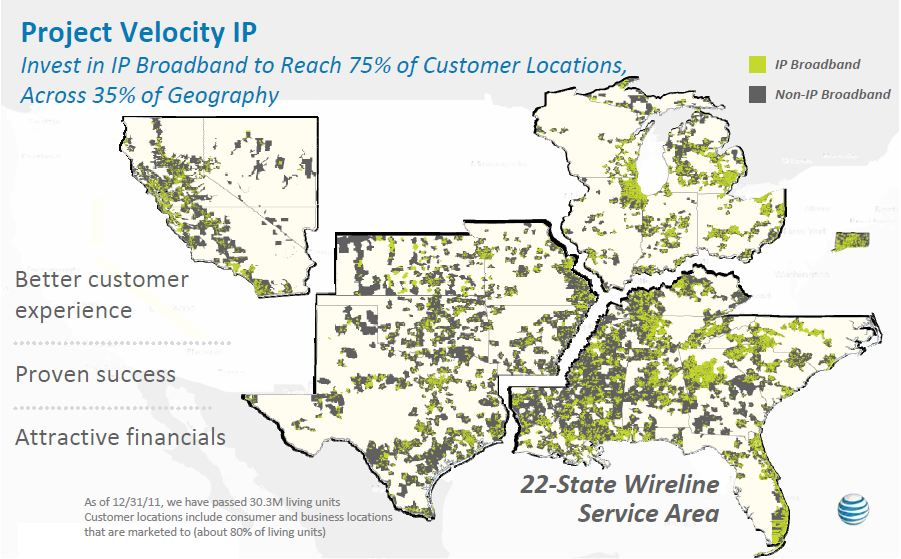 AT&T to Expand U-Verse & IP-DSLAM; Bring Fiber to Commercial ... Att Uverse Coverage Map on