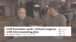 Cliff Albertson discusses an idea to virtualize Congress.
