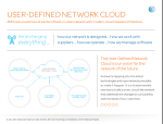 AT&T''s vision of a user-defined cloud experience.