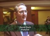 Futurist David Zach speaks at the TOC.