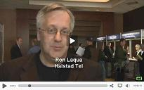 click here to watch our video interview with Ron Laqua