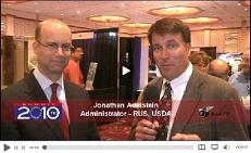 Click here to go to the video interview with RUS Administrator, Jonathan Adelstein