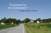 Swisher Telephone's committment to the Community