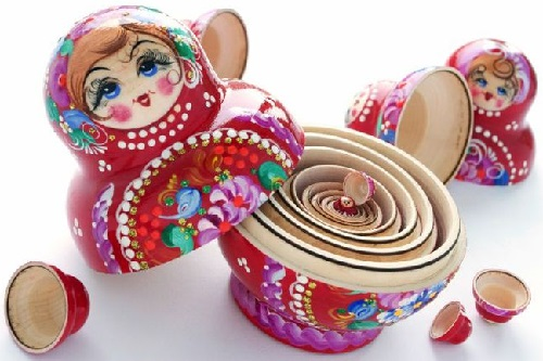 Image result for russian nesting dolls pictures