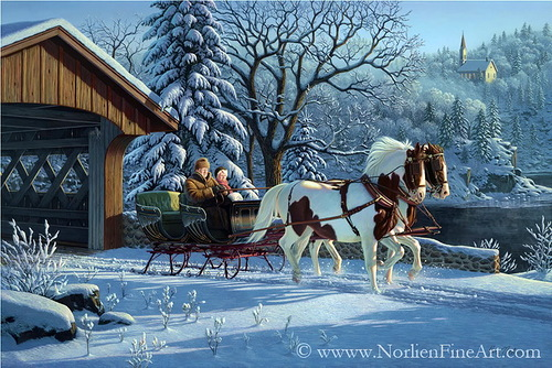 Clydesdales Christmas Commercial