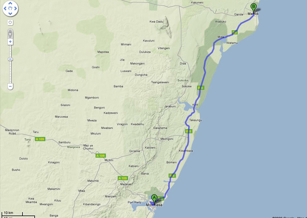 La Mia Africa. Destinazione Kenya: Mombasa-Malindi.