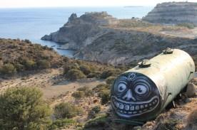Street-Art-by-WD-in-Milos-island-Greece