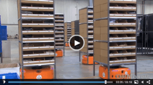 Amazon will be using 10,000 robots in its warehouses by the end of the year.
