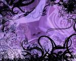 Purple-Black-Sphere-Background