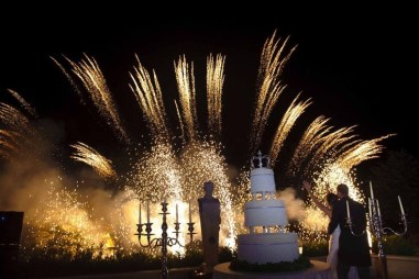 Firework-Cake