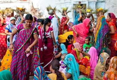 Mujeres-Delhi