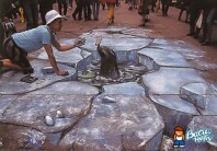 Seal-chalk-art