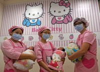 TAIWAN-HEALTH-HOSPITAL-KITTY
