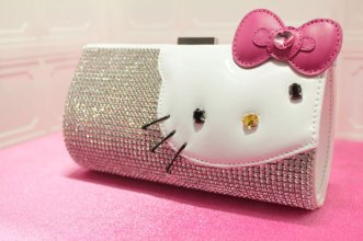 Hello-Kitty-Swarovski-Clutch-Bag