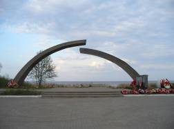 Broken Circle monument,Saint Petersburg,Russia-2