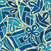 Blu Seamless Pattern Set