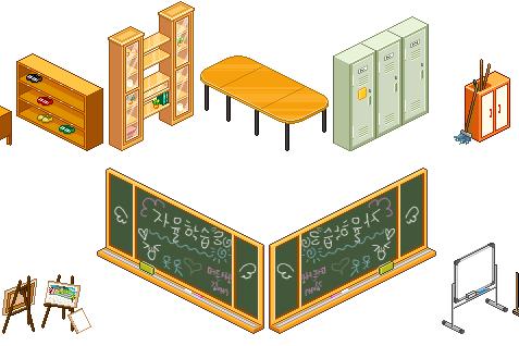 Cartoon World School