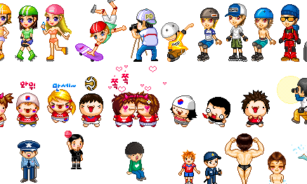 Cartoon World People 3