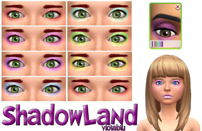 Shadowland Eye Shadow Set