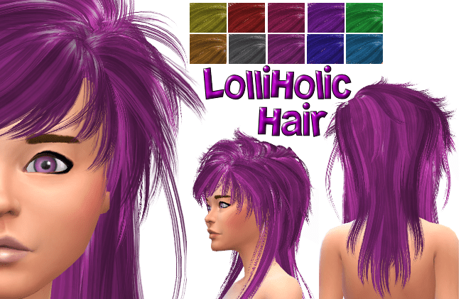 LolliHolic David Hair in 10 colors