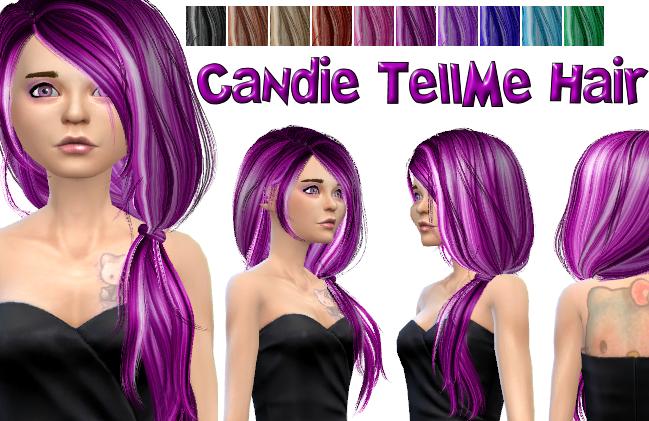 Candie TellMe Hair in 10 Colors