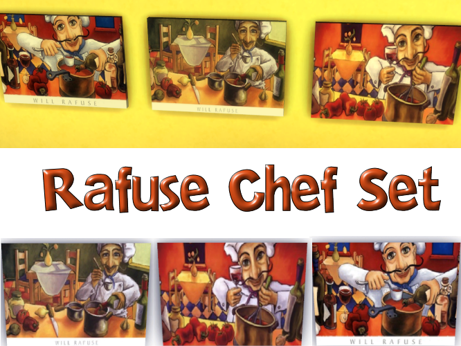 Will Rafuse Chef Set