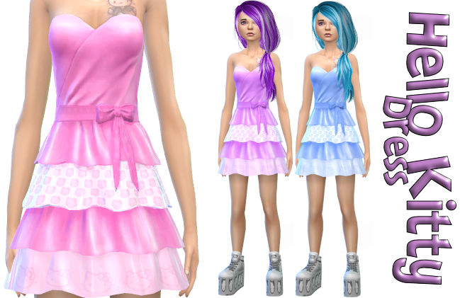 Hello Kitty Dresses in 3 colors