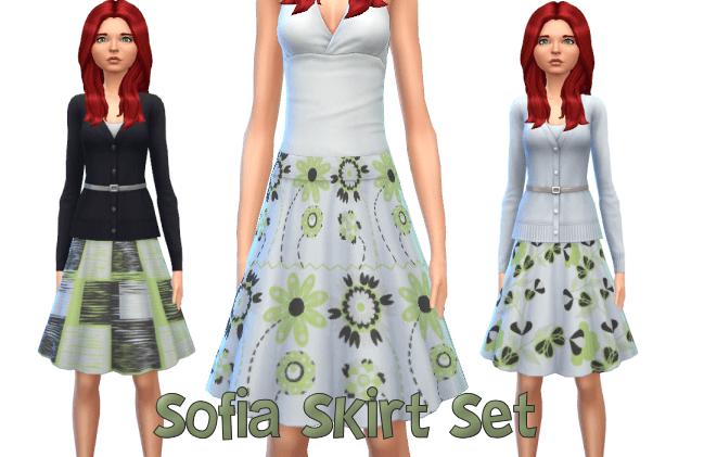 Sofia Skirt Set