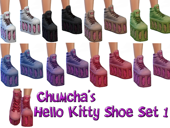 Chumcha's Hello Kitty Shoe Set 1