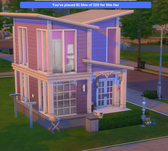 Violet a Tiny House for Sims 4 Realistic Realty