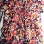 Medium Fire Scrunch Tie Dye