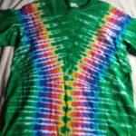 Medium Green Tie Dye