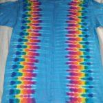 Medium Turquoise Tie Dye
