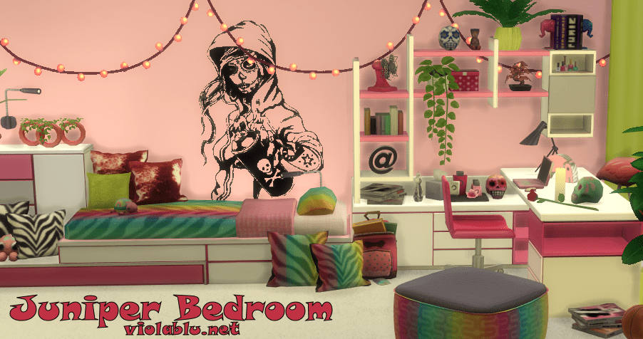 Viola's Juniper Bedroom Recolors for The Sims 4