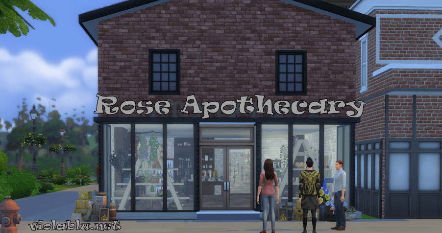 Rose Apothecary for Sims 4