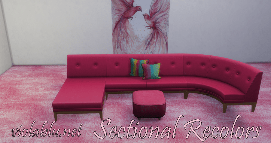 Smooth Sectional Recolors for Sims 4