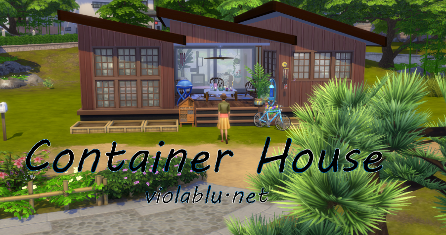 Container House 3 for Sims 4
