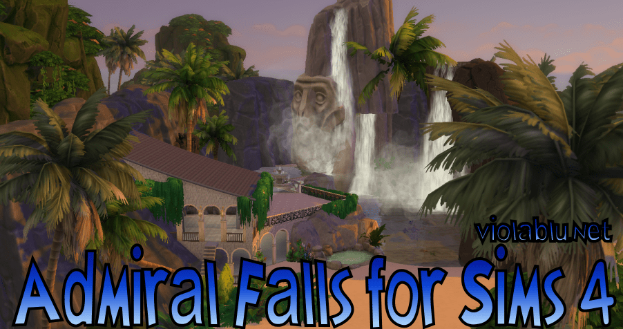 Admiral Falls for Sims 4